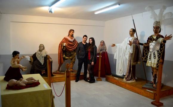 EXPOSICIÓN DE OBRAS DE ANA REY Y ÁNGEL PANTOJA EN EL  COLEGIO ARGANTONIO (CÁDIZ)
